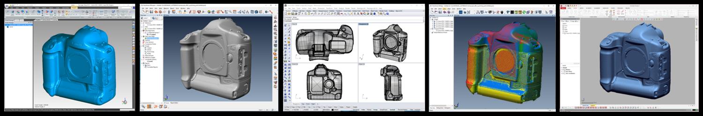 3D scanner software