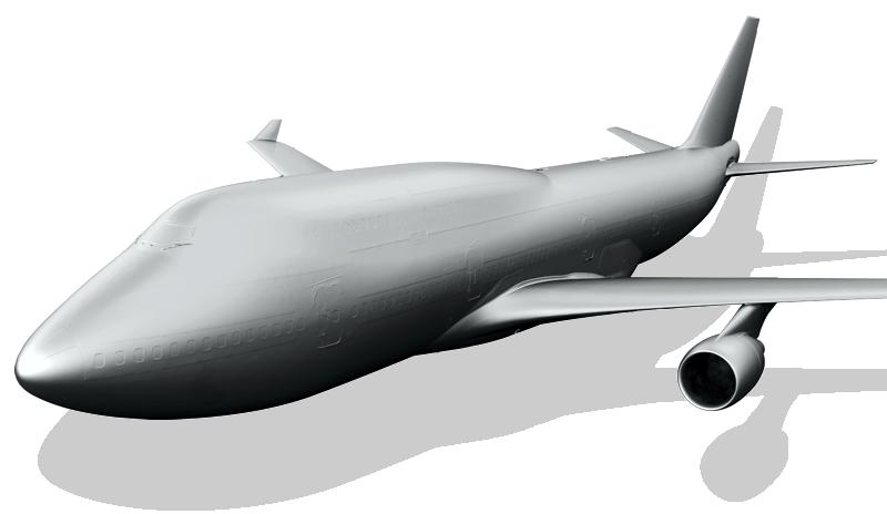 747 Aerospace 3D Scanning