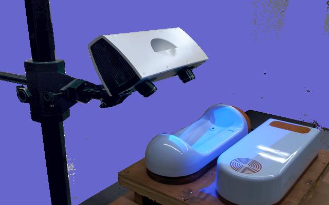 Blue Light 3D scanning services